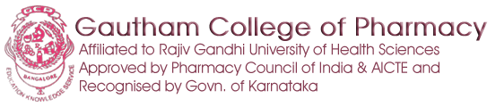 Welcome to Gautham College of Pharmacy